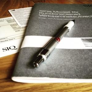 SIQs modell för kundorienterad verksamhetsutveckling.